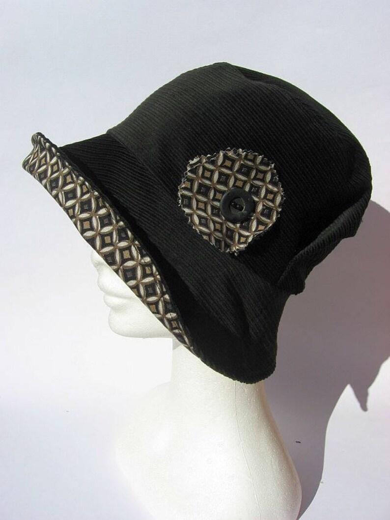 Cappello donna cappello nero stile anni 50 cappello  b6069053836a