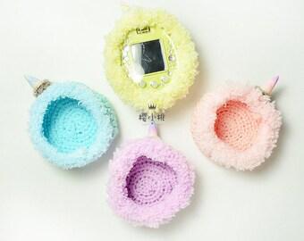 Tamagotchi MIX/4U/4U+/Ps/iDl unicorn crochet cover/case --[NAJI810 HANDMADE]