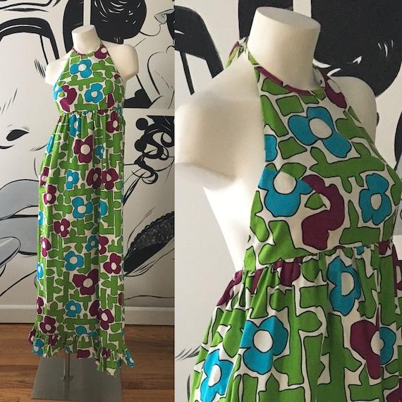 Liberty House Vintage Halter Dress