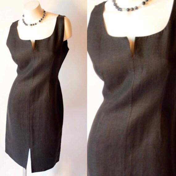 Bill Blass 80s Vintage Little Black Dress