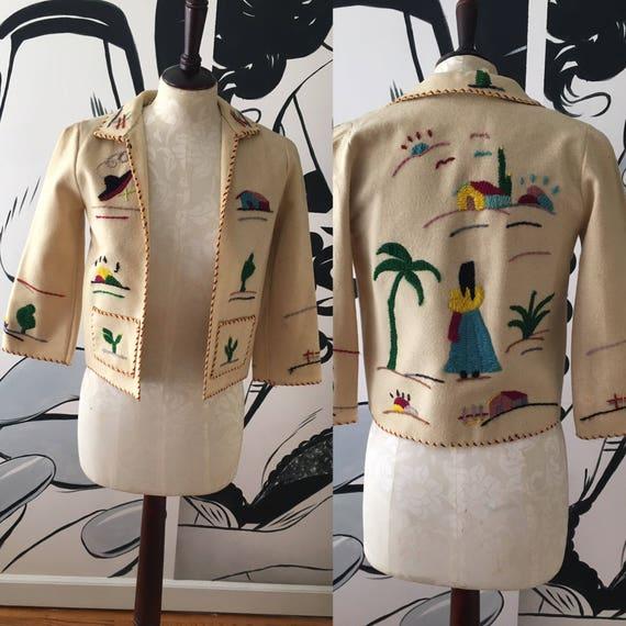 Mexican Novelty Vintage Jacket