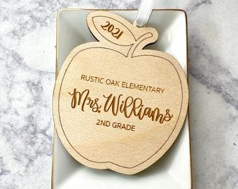 Teacher Christmas Gifts - Personalized Teacher Ornament - Custom Teacher Gift - Teacher Appreciation