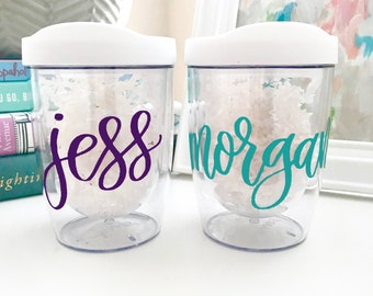 8641dd06af4 Acrylic Wine Tumbler Personalized - Travel Wine Glass - Bachelorette Party  Cups - Plastic Tumbler - Girls Weekend Gift