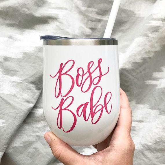 Boss Babe Tumbler  Girl Boss  Gift for Boss  Stainless