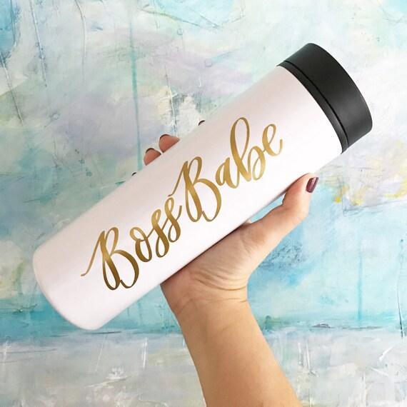 Boss Babe Travel Mug  Gift for Boss  Travel Mugs for Women