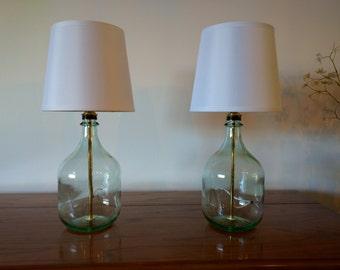 White bedroom lamps   Etsy
