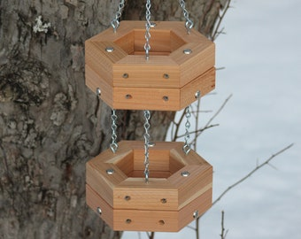 Double Chained Basket Feeder