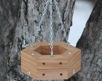 Cedar Hanging Feeder