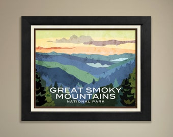 Great Smoky Mountains National Parks Framed Print