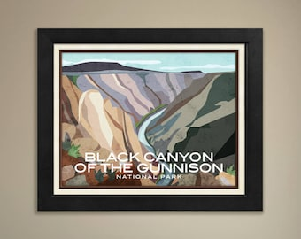 Black Canyon of the Gunnison National Parks Print