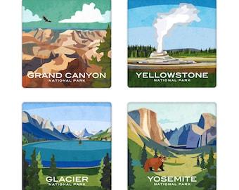 National Park Coaster Set