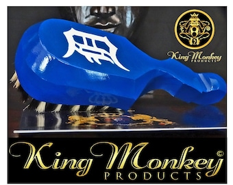 360 WAVE BRUSH: King Scorpion 360 Wave Brush - 313 Detroit Edition 10 Row Tight Custom Designer 360 Wave Brush By King Monkey Products