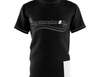 Black King Scorpion 360 T-Shirt Small 3-XL By King Monkey Products