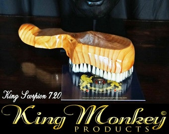 720 WAVE BRUSH: King Scorpion 360 Wave Brush - 360 Wave Brush, Custom Made for 720, 540 360 Wave Pattern By King Monkey Products