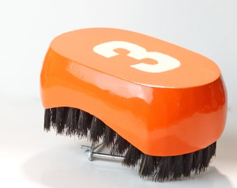 540 WAVE BRUSH: Small Oval King Scorpion 360 Wave Brush - (Medium) 9 Row Tight By King Monkey Products