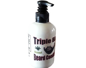 BEARD CONDITIONER: Triple Black Leave In Beard Conditioner for Men
