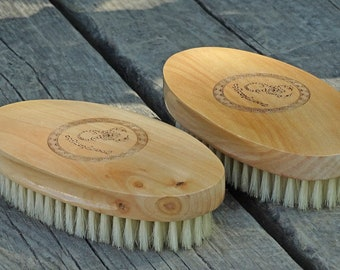Wholesale - Lot of 12 -  King Scorpion 360 Wave Brush - (soft) Oval Palm Unisex Hair Brush Also Great on Beards