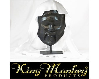 COTTON DU-RAG: King Scorpion 360 Large Custom Unisex 100% Cotton Fat Lace Du- Rag/Hair Wrap - By King Money Products