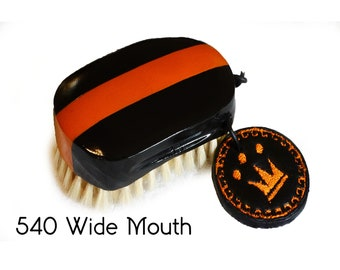 Large Wide Mouth 540 Wave Brush - Bristle & Color Option Available