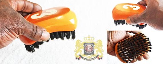 540 WAVE BRUSH: Small Oval King Scorpion 360 Wave Brush - (Medium)