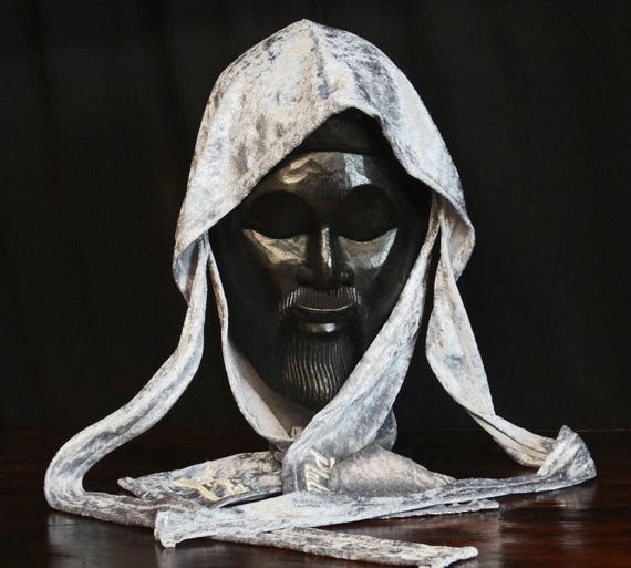 Grey Velvet Du-Rag | King Scorpion 360 Fat-Lace Custom Du-Rag