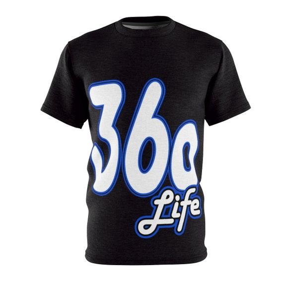 Black Polyester Unisex T-Shirt | 360 life
