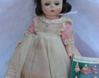 "Doll - Madame Alexander Doll - Beth - ""Little Women"" - Vintage"