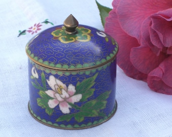 Cloisonne Box with Lid - Vintage