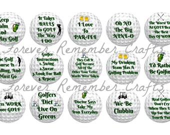 Funny golf sayings | Etsy