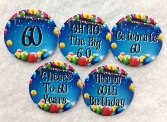 Set of 50100150200 Personalized 21st Birthday Party  1 Inch Circle Confetti