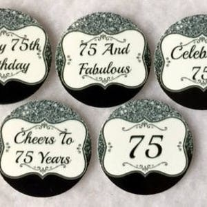 Set Of 50100150200 Personalized Quinceanera 15th Birthday Party  1 Inch Circle Confetti