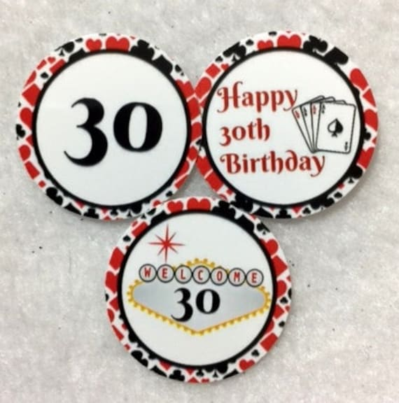 Set Of 50100150200 Personalized 30th Birthday Party 1 Inch Circle Confetti