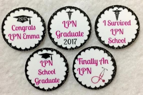 ANY YEAR Set of 50100150200  EMT Graduation Class Of 2017   1 Inch Confetti Circles