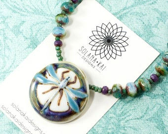 Dragonfly Necklace for Women | Nature Necklace For Women  | Dragonfly Jewelry For Women | Solana Kai Designs | Portland Oregon