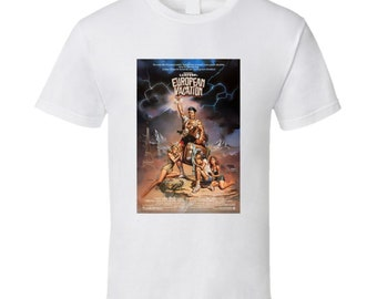 National Lampoon's Christmas Vacation Retro Movie Poster Fan T Shirt