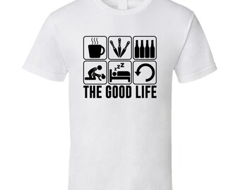 The Good Life Knife Throwing Sports Hobbies Fan T Shirt