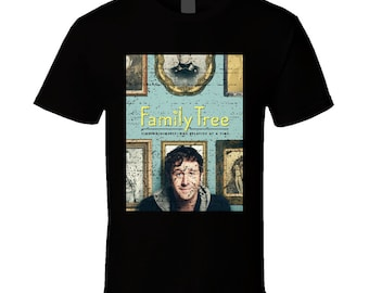 Family Tree Finding Himself. One Relative At A Time Tv Show Fan T Shirt