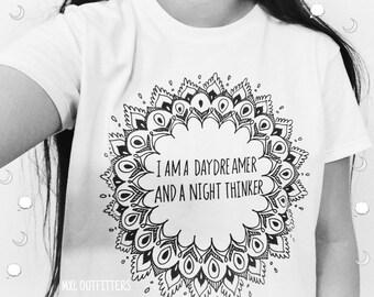 Daydreamer and Night thinker T-Shirt