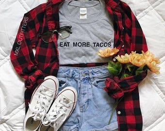 Eat more tacos t-shirt