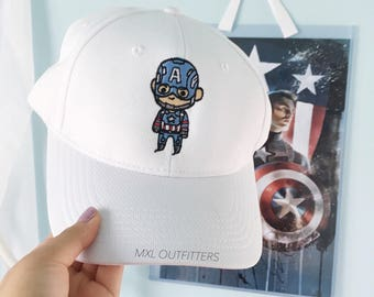 Limited Edition Captain America embroidered Baseball Cap
