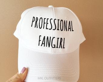 Limited Edition Professional Fangirl Baseball Cap
