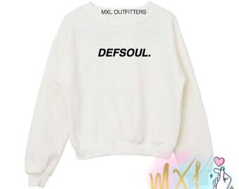 Defsoul. Crewneck Sweatshirt