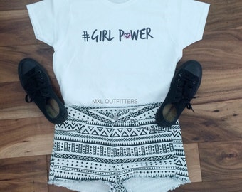 Girl Power T-Shirt © Design by Jake Reynolds.