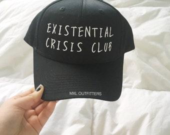Existential Crisis Club Baseball Cap