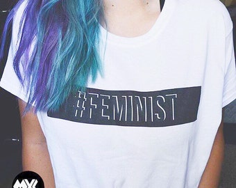 Hashtag FEMINIST T-Shirt  © Design by Jacob Reynolds