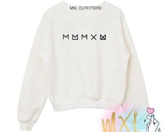 Monsta X and Monbebe crewneck sweatshirt