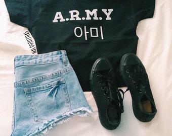 A.R.M.Y BTS T-Shirt  © Design by Maggie Liu