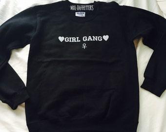 Girl Gang Crewneck Sweatshirt