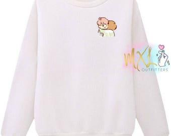 Vmin 1 T-Shirt // BTS Jimin and Taehyung Crewneck Sweatshirt (Design by Yeooongi)