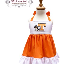 Girls Tennessee Game Day Dress